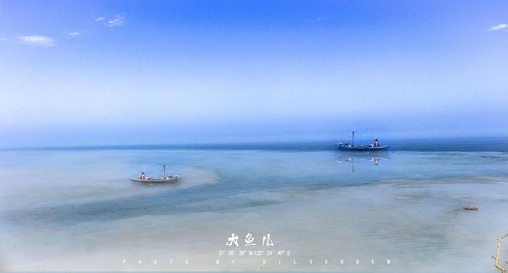 """""""往前走,会给你带来前所未有的震撼俯瞰整个海岛,打鱼的船只在海边上来来往往,出大片的时候到了_海驴岛""""的评论图片"""