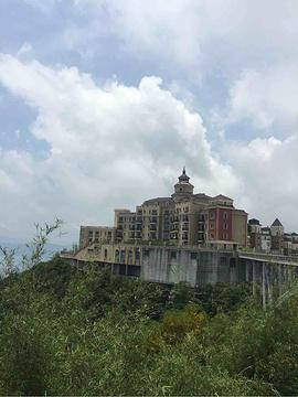 东部华侨城旅游景点攻略图