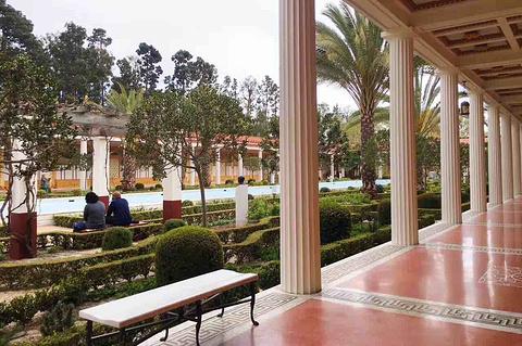 盖蒂别墅博物馆的图片