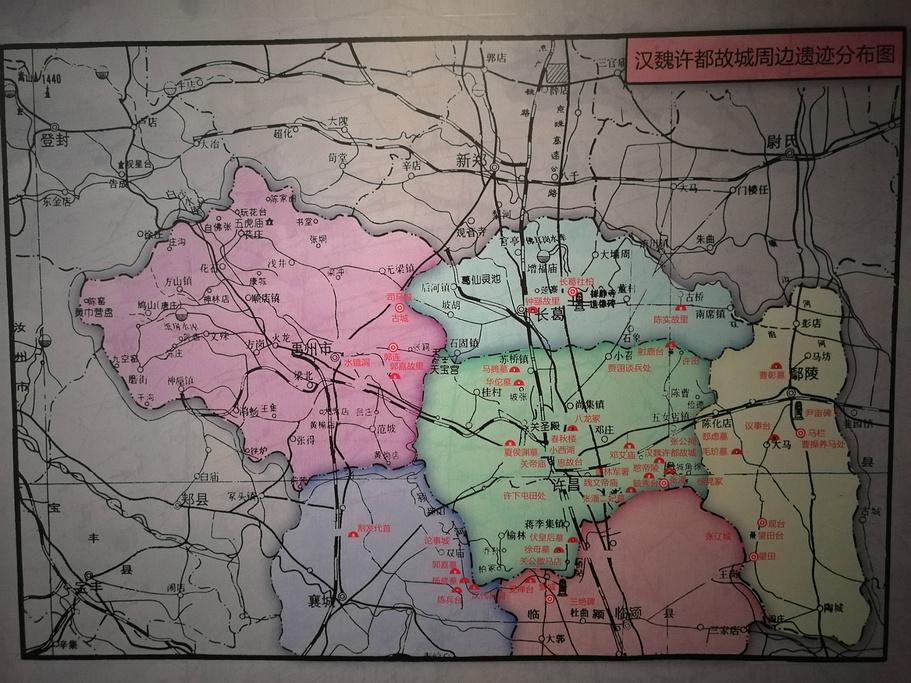 许昌博物馆旅游导图