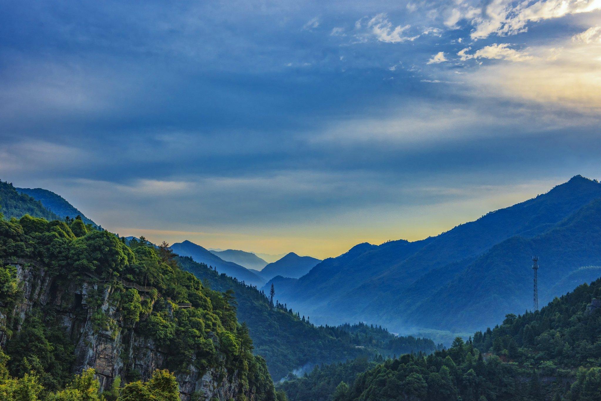 西黄山藏着一块圣地,景色绮丽,值得一去再去