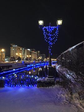 小樽运河旅游景点攻略图