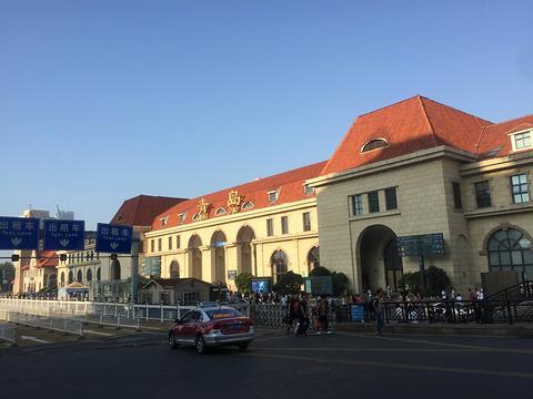 青岛火车站旅游景点图片