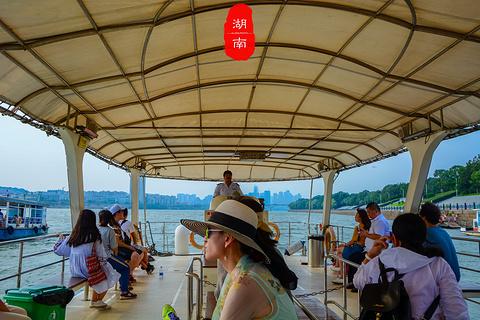 橘子洲湘江游船旅游景点攻略图