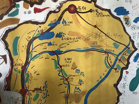 帕米尔高原旅游景点攻略图