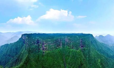 瓦屋山旅游景点攻略图