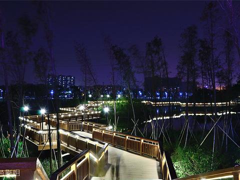 花都湖公园旅游景点图片