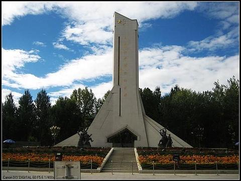 西藏和平解放纪念碑旅游景点图片