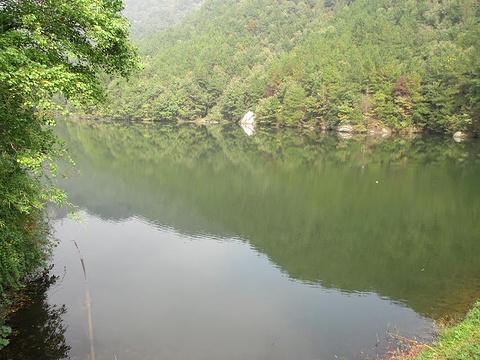 木兰天池景区旅游景点攻略图