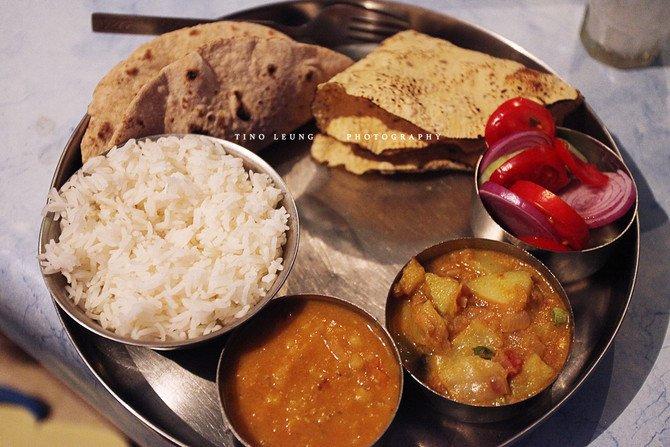 美食Thali图片