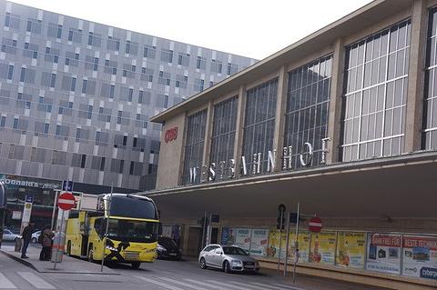 维也纳西火车站旅游景点攻略图