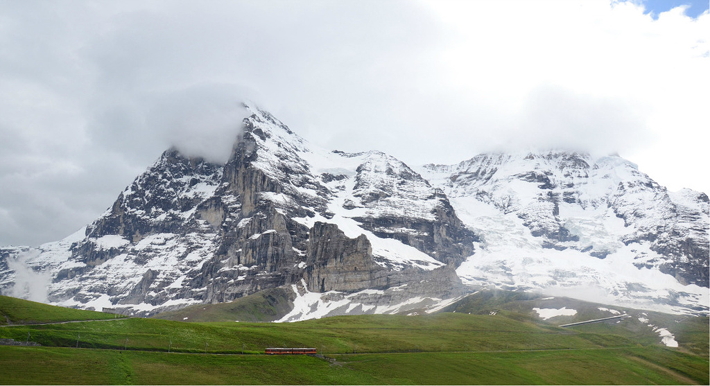 瑞士唯美湖光山色