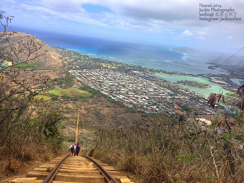 Koko Head Crater Trail Hike旅游景点攻略图