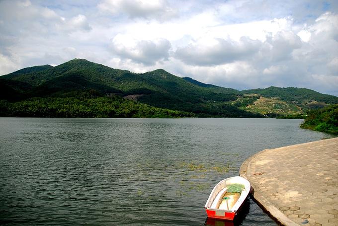 水源地水库图片