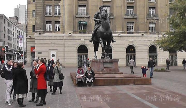 """""""从GH方向走过来Plaza de Arm..._武器广场""""的评论图片"""