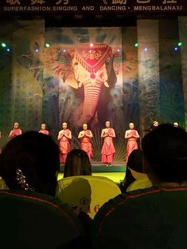 勐巴拉娜西艺术宫旅游景点攻略图