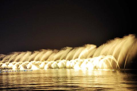 西湖音乐喷泉旅游景点攻略图