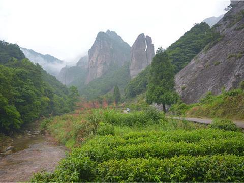 大龙湫景区旅游景点图片