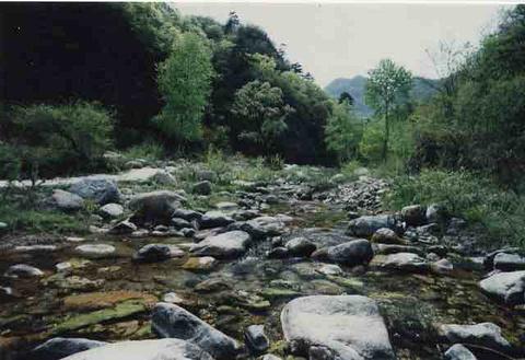 玉渡山景区旅游景点攻略图