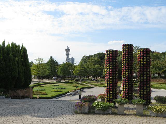 """""""虽然这个公园是收费的,但是风景其实还是很不错的_天王寺公园""""的评论图片"""
