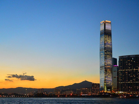 天际100香港观景台旅游景点图片