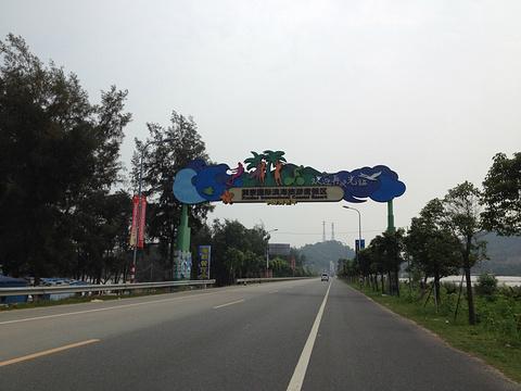 巽寮湾旅游景点攻略图