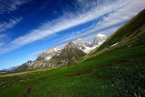 友谊峰冰川旅游景点攻略图