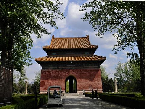 明十三陵旅游景点图片