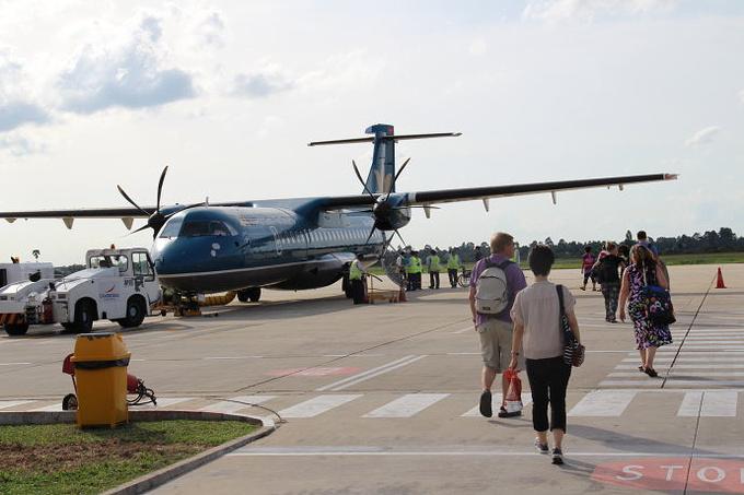 抵达安克尔机场图片