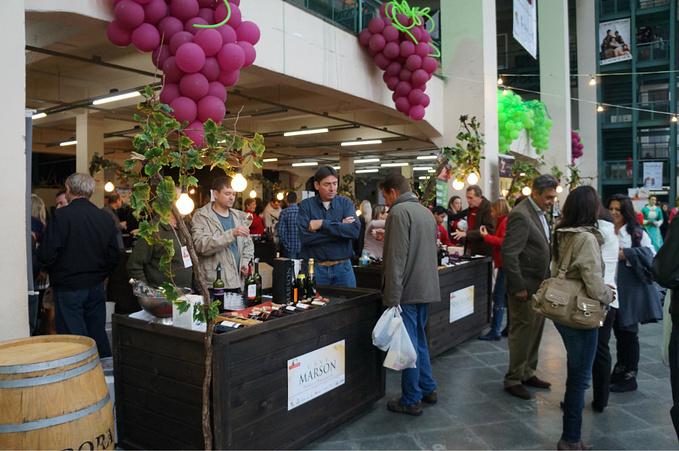 葡萄酒集市图片
