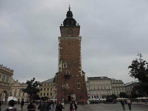 克拉科夫市政厅大楼旅游景点攻略图