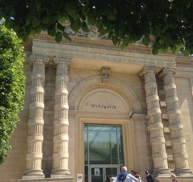 橘园美术馆旅游景点攻略图