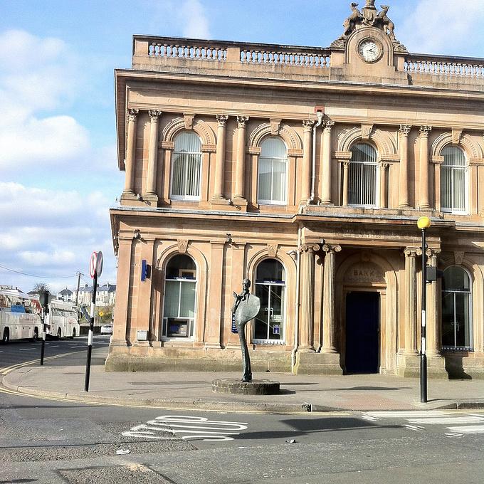 Sligo城与叶芝图片