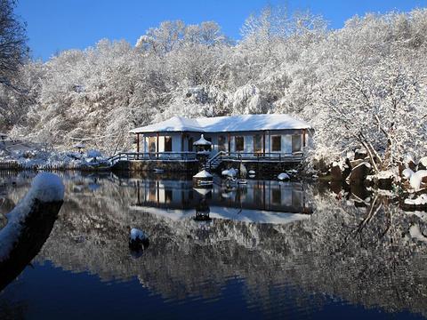 镜泊湖风景区旅游景点图片
