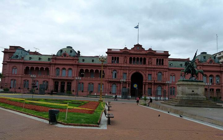 """""""周边有很多知名建筑物_阿根廷玫瑰宫""""的评论图片"""