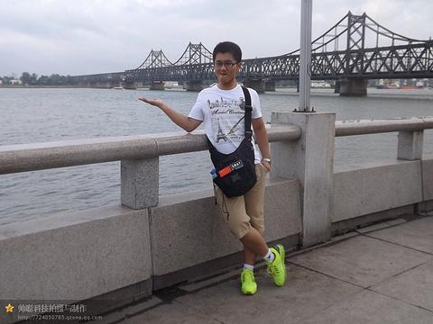 鸭绿江公园旅游景点攻略图