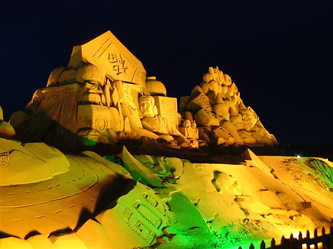 平潭沙雕园旅游景点攻略图