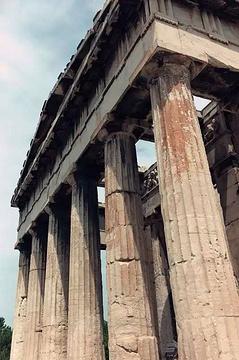 雅典卫城观光餐厅旅游景点攻略图