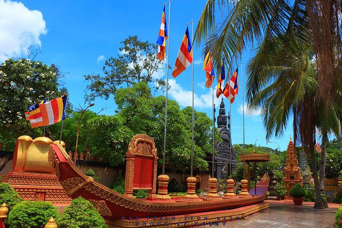 Wat Preah Prom Rath 寺庙图片