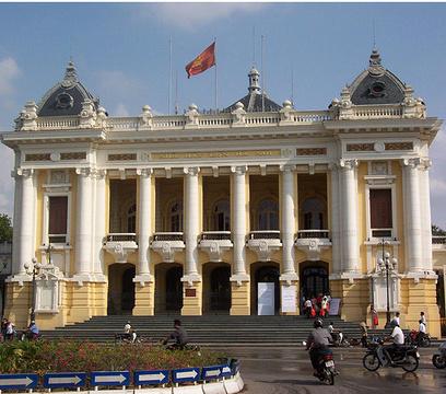 河内歌剧院旅游景点攻略图