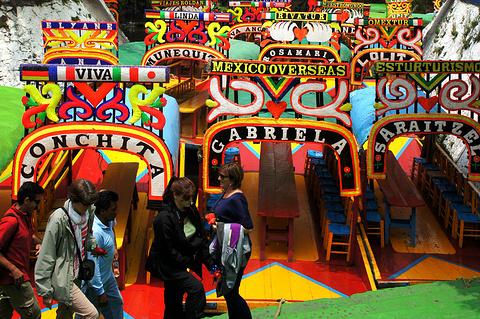 Xochimilco旅游景点攻略图