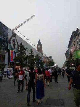 北京市百货大楼(王府井大街)旅游景点攻略图