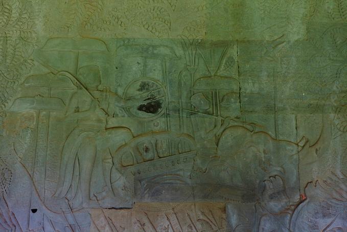 苏利耶跋摩二世的军队图片