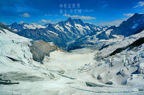 少女峰旅游景点攻略图
