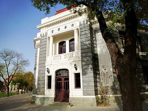 清华大学旅游景点攻略图