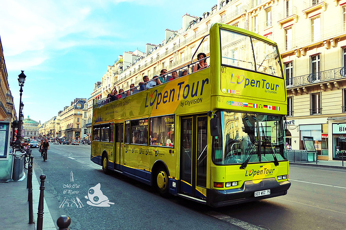 观光巴士游图片