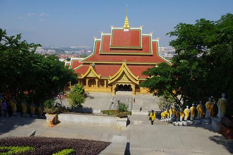 大佛寺旅游景点攻略图