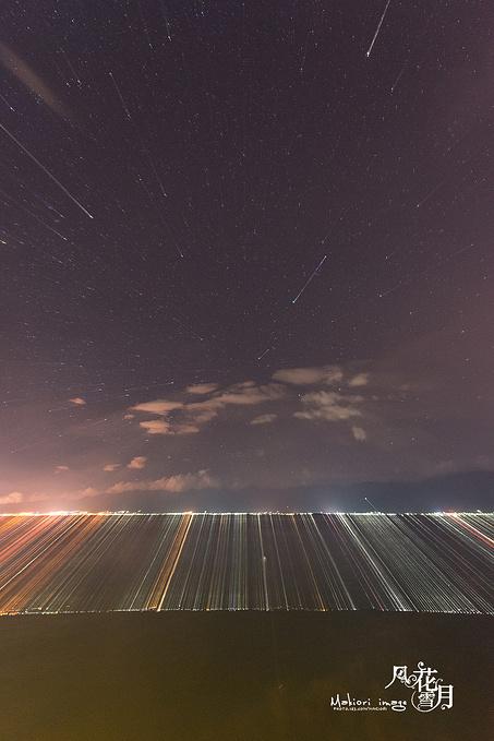 洱海的星空图片