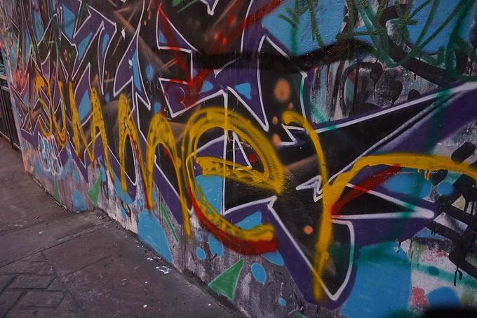 涂鸦一条街图片