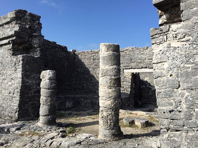 """""""早上参观图伦遗址,和奇琴伊查相比,那里是以前祭祀的地方,而这里是个真正的社区_图伦遗址""""的评论图片"""